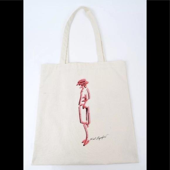 5c8f5fc3099 CHANEL Handbags - CHANEL Mademoiselle Prive Karl Lagerfeld Tote Bag